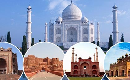 book agra tour package by car