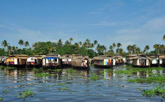 kerala wildlife with houseboat tour package