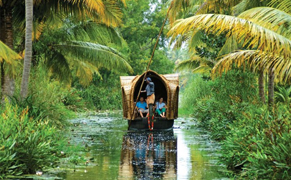 delhi and kerala tourism