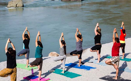 yoga tour package India